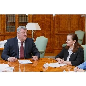 Активисты ОНФ в Коми обсудили с главой региона реализацию общественных предложений