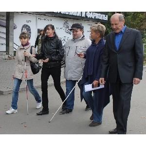 ОНФ выявил отсутствие «доступной среды» для слепых и слабовидящих граждан на улицах Челябинска