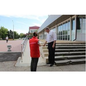 ОНФ в КБР направил в Урванский район запрос с просьбой привести в надлежащее состояние пандус