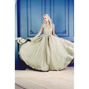 Показ новой коллекции «Марсала» by Karina Khimchinskaya на Неделе моды в Москве
