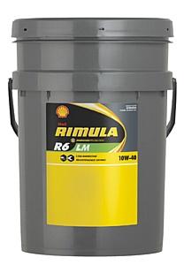 Моторное масло Shell Rimula R6 LM для двигателей на сжиженном природном газе