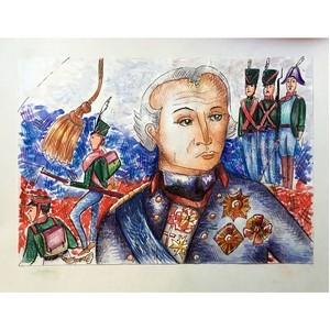 """Выставка """"Суворов. Наша память""""."""