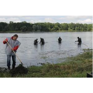 Дайверы проверили качество воды в Дудергофском озере в рамках проекта ОНФ «Генеральная уборка»