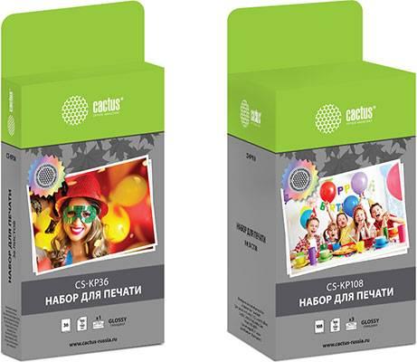 Cactus представляет наборы для печати для термосублимационных принтеров Canon Selphy