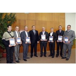 УМПО наградило ежегодной премией имени Ферина творческие бригады