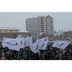 Команда «Молодежки ОНФ» в Коми приняла участие в акциях в честь 75-летия победы под Сталинградом
