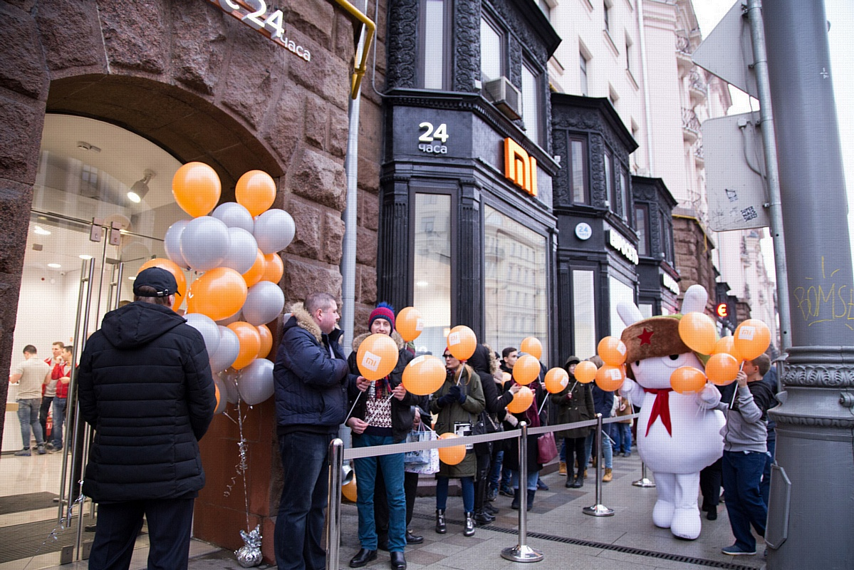 В Москве на Тверской открылся круглосуточный магазин Xiaomi
