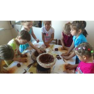 Активисты ОНФ открыли для особенных детей кружок по арт-терапии в Петрозаводске