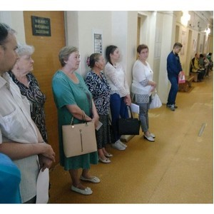 Активисты ОНФ в рамках проекта «Народная оценка качества» посетили поликлиники Костромской области