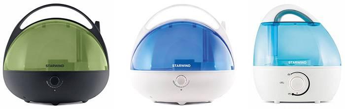 Увлажнители Starwind: комфортный уровень влажности в помещении и забота о здоровье