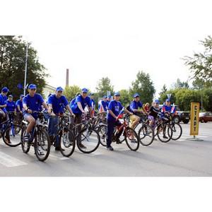 Общероссийский велофлешмоб «Велосипед лучше сигарет!» прошел в Москве