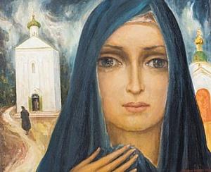 В Таллине открылась выставка белорусского художника Алексея Кузьмича «Храм Мадонны»