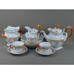 История русского фарфора на примере чайных сервизов Вербилок