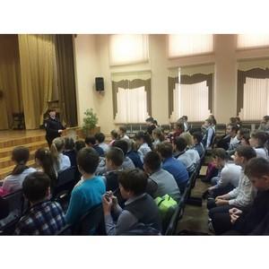 Инспекторы по делам несовершеннолетних проводят профилактические беседы в школах Зеленограда