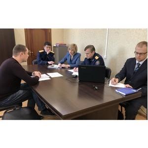 Бизнес-омбудсмен Забайкалья и руководитель регионального СУСК провели личный прием предпринимателей