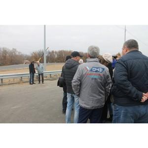 Волгоградские активисты ОНФ оценили качество строительства мостового перехода через Ахтубу