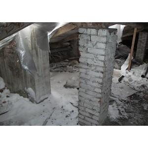 """""""ел¤бинские активисты ќЌ' обнаружили в ћагнитогорске два дома с демонтированными крышами"""