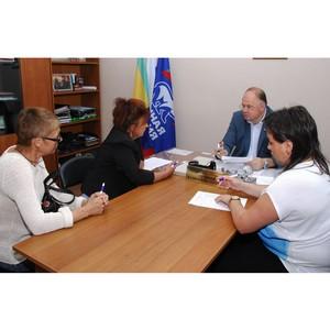 Вадим Супиков провел приём граждан в Железнодорожном районе Пензы