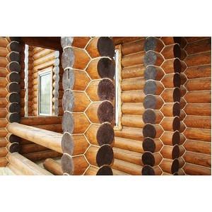 Наружное утепление деревянного дома ленточной паклей и льняной бечевкой