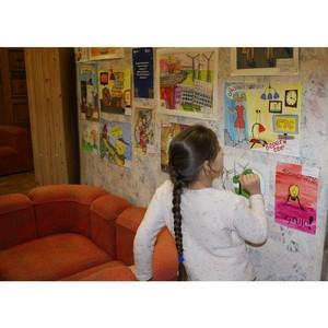 """в Ивановской областной библиотеке открылась выставка рисунков на тему энергосбережения """"Ивэнерго"""""""