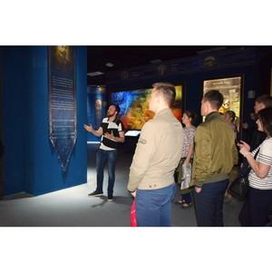 Стажеры УВД Зеленограда посетили мультимедийный исторический парк «Россия — моя история»