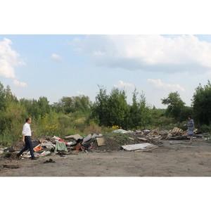 Активисты ОНФ обнаружили стихийные свалки в центре Костромы