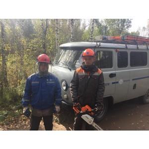 Специалисты Тамбовэнерго приступили к работам в Тверской области по сценарию учений