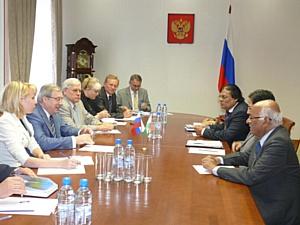 Полпред Виктор Толоконский обсудил с гостями из Дели перспективы сотрудничества