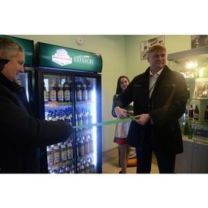 Воронежский пивоваренный завод открыл фирменный магазин