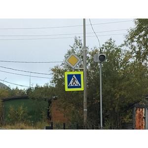 Эксперты ОНФ оценили безопасность пешеходных переходов у образовательных учреждений Ямала