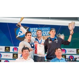 «Я самый счастливый человек на земле!» Спортсмен вуза завоевал Кубок мира по скалолазанию