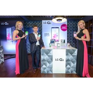 Смартфон LG G3 представлен в России