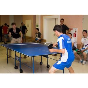 В УрФЮИ прошёл турнир по настольному теннису среди бойцов ВСС «Академический»