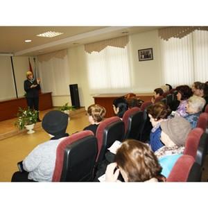 ПФР встретился с членами Союза пенсионеров России