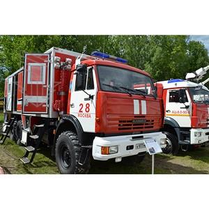 Автомобиль пожарный многоцелевой МПЗ-АПМ на форуме «Комплексная безопасность — 2017»