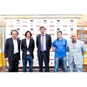 Церемония отправки победителей акции Team Russia Очаково Drive