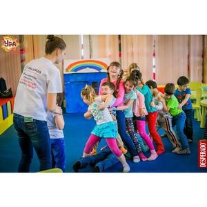 Летние развлечения в детском клубе «Ура» в ТРЦ «Аура»