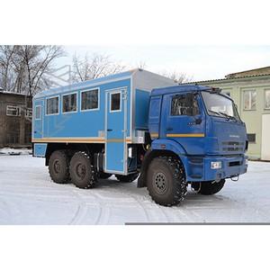 Сила МПЗ - в качественной продукции: вахтовые автобусы Изотерм для ГТС «Сила Сибири»