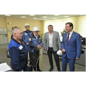Дмитрий Азаров посетил «Тольяттиазот»