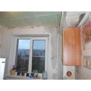 Активисты ОНФ в Тюменской области взяли на контроль завершение капремонта в многоквартирном доме