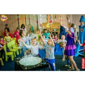 Клуб детских увлечений «Ура» в ТРЦ «Аура»: веселые игры для юных Почемучек