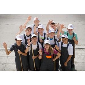 Более 200 школьников принимают участие в работе Экологических отрядов Холдинга «ЕВРОЦЕМЕНТ груп»
