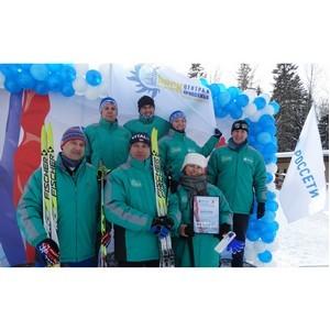 Команда лыжников «Удмуртэнерго» приняла участие в соревнованиях ПАО «Россети»