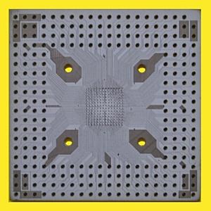 Высокоселективная химическая  металлизация лазерного рисунка на керамических подложках, керамике