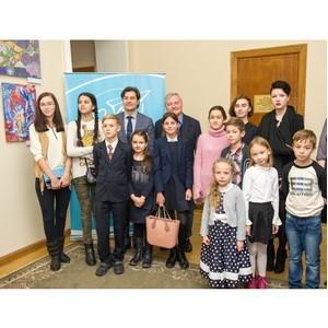 В Минкультуры открыли выставку детского рисунка, проводимого Фондом Игоря Янковского