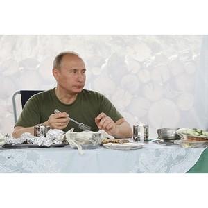 Что едят главы государств