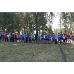 При участии активистов Народного фронта в Курганской области прошел сельский турнир по футболу