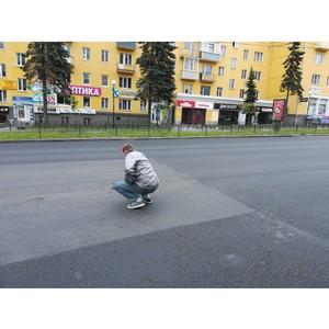 Активисты ОНФ в Карелии следят за ремонтом участков, отмеченных на карте «убитых» дорог