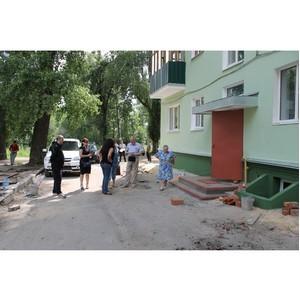 Активисты ОНФ заявили о сомнительных действиях чиновников при реализации проекта благоустройства