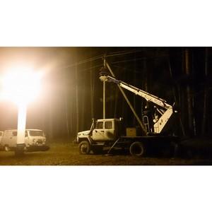 Энергетики Рязаньэнерго продолжают  восстанавливать электроснабжение потребителей